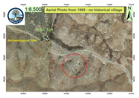 Aerial-Photo-Susiya-area-1999