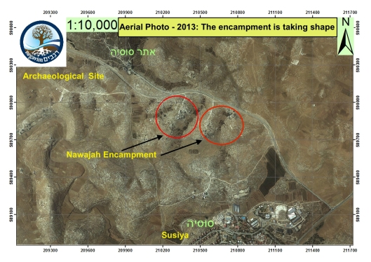 Aerial-Photo-Susiya-Area-2013