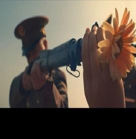 gun flower peace -10