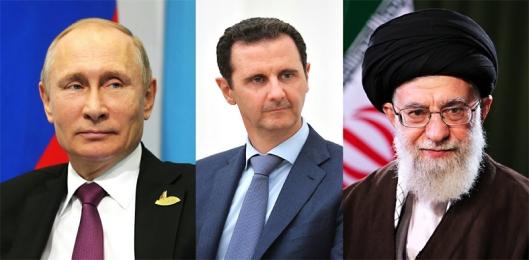 Putin-Assad-Khamenei